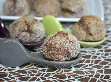 Biscotti al cocco al cioccolato vegani