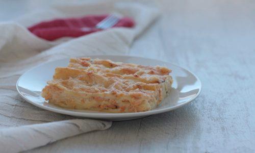Lasagne con il salmone affumicato