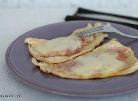 Petto di pollo con scamorza e prosciutto, ricetta facile