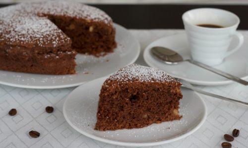 Torta al cioccolato e caffè, ricetta dolce