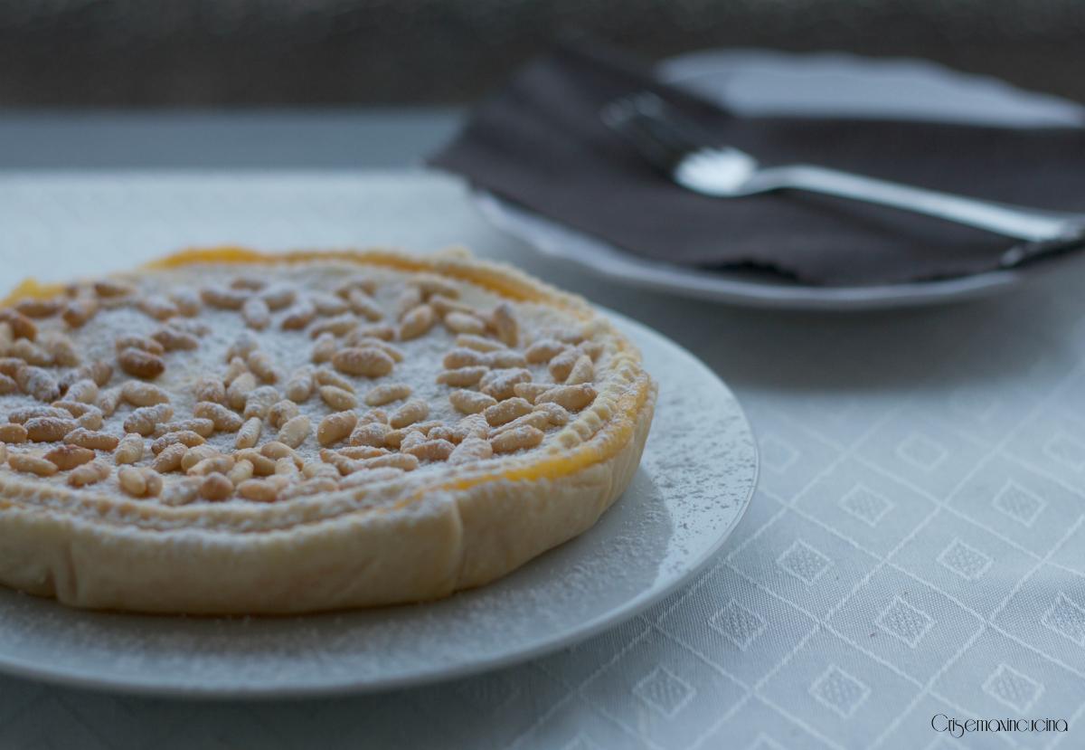 Torta di Pasta Sfoglia e Crema, Ricetta Facile