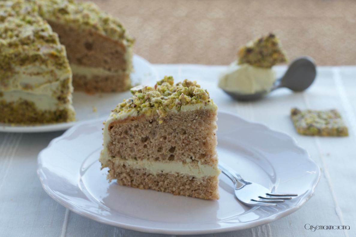 torta farcita al pistacchio