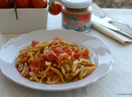 Malloreddus con pomodorini e bottarga