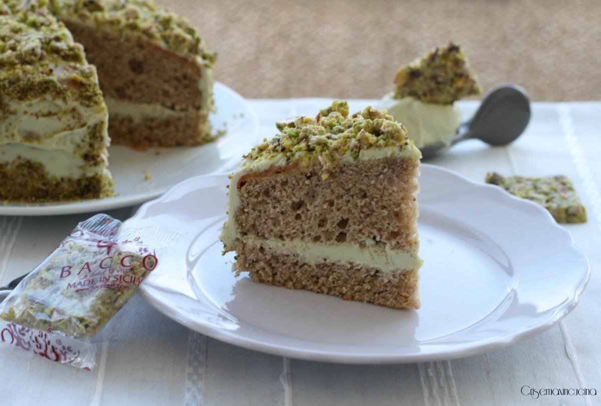 torta al pistacchio bacco