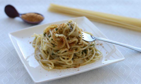 Spaghetti risottati alla bottarga di tonno