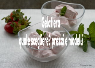 gelatiera quale scegliere