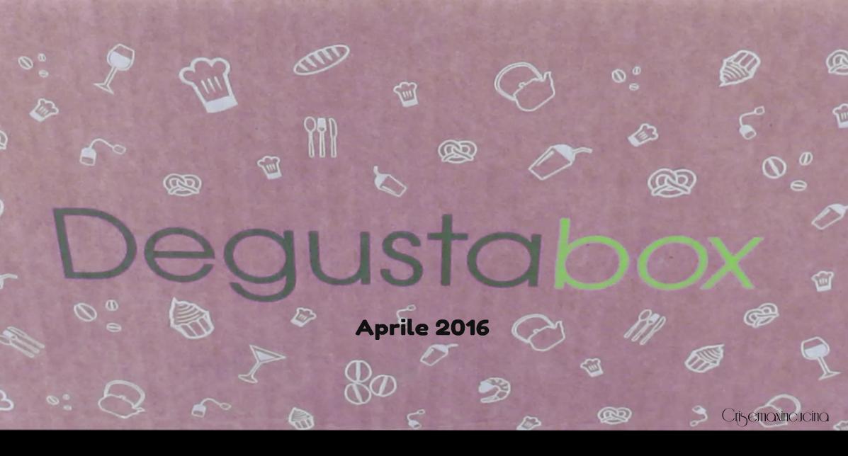 Degustabox aprile 2016, nuova collaborazione
