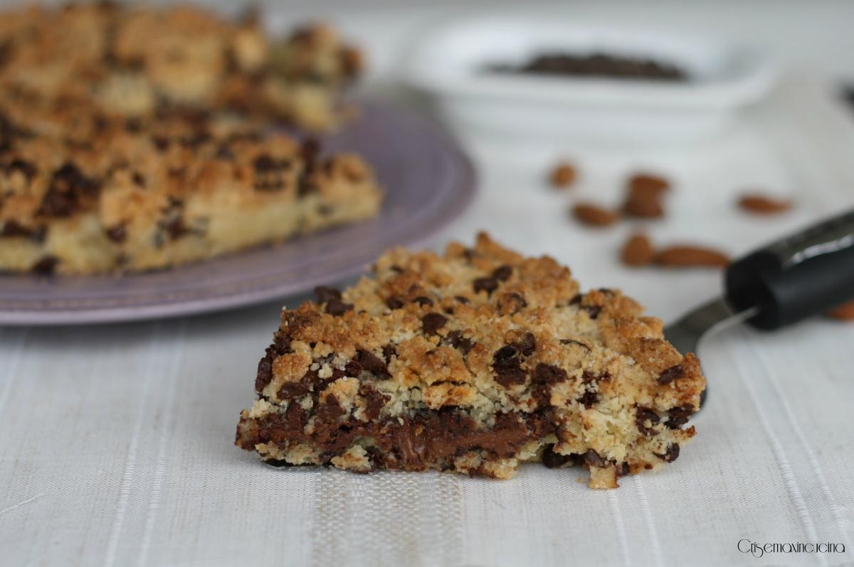 torta cookies con le mandorle