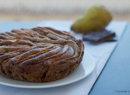 Torta al cioccolato con le pere, ricetta dolce