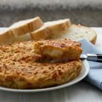 frittata di pane al forno