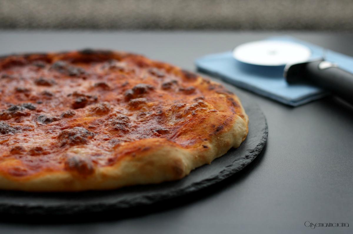 pizza con esubero di licoli