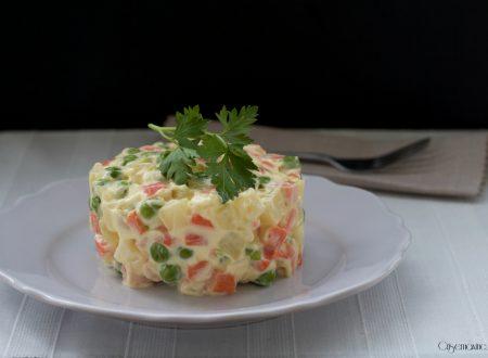 Insalata russa, ricetta facile e veloce