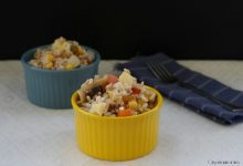 Insalata di riso ai 3 cereali, ricetta leggera