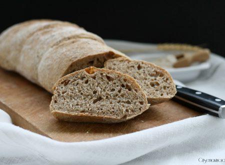 Pane integrale con lievito madre, ricetta di Bonci