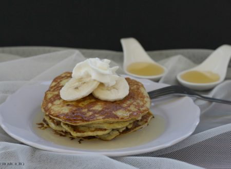 Pancake di banana, ricetta senza farina