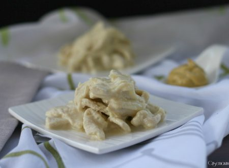 Straccetti di pollo yogurt e senape
