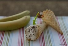 Gelato alla banana e yogurt, ricetta con panna