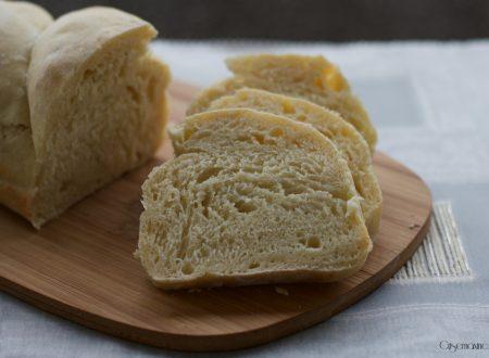 Pane con farina di grano duro e yogurt