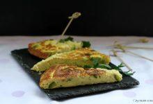 Frittata con fiocchi di patate e zucchine, senza glutine