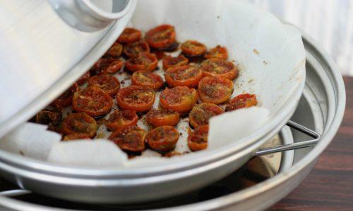 Pomodorini confit, cotti nel fornetto Estense