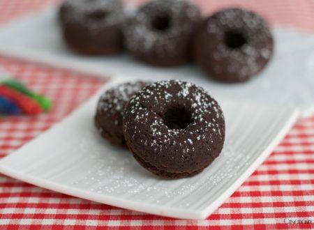 Ciambelline semplici al cioccolato, ricetta dolce