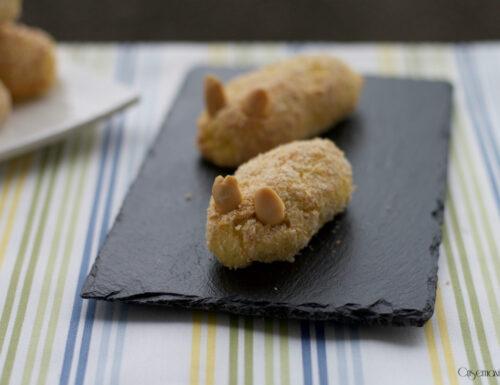 Crocchette al forno di patate e ricotta