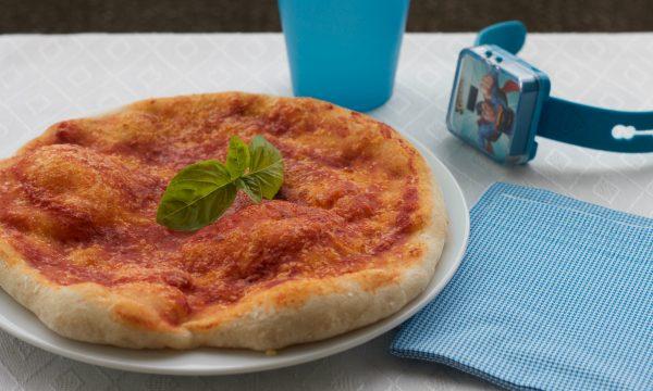 Pizza rossa con esubero di licoli
