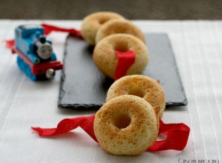 Ciambelline con le mele grattugiate, ricetta dolce