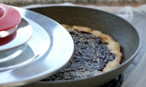 Crostata alla nutella e cocco con Magic Cooker