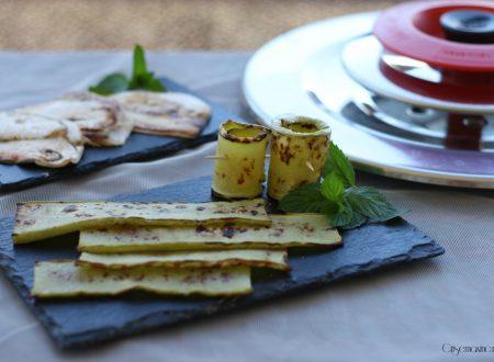 Verdure grigliate con Magic Cooker, ricetta vegetariana
