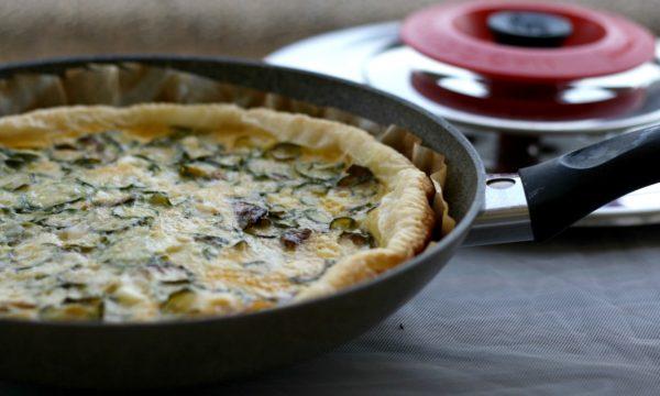 Torta salata zucchine e emmental con Magic Cooker