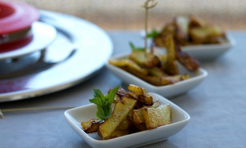 Zucchine fritte con Magic Cooker