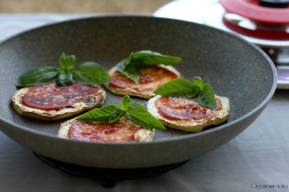melanzane grigliate alla pizzaiola con magic cooker