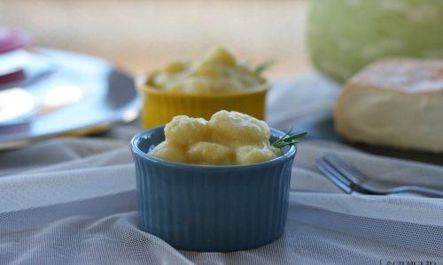Gnocchi con zucchine e taleggio con Magic Cooker, senza glutine