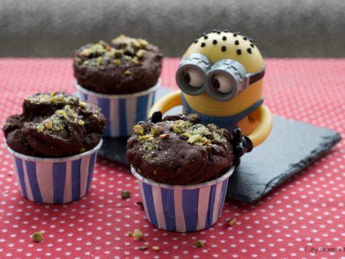 Muffin al cioccolato e pistacchi, ricetta golosa
