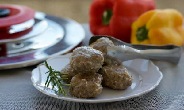 Polpette saporite con il Magic Cooker