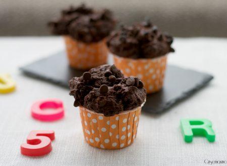 Muffin al doppio cioccolato, ricetta golosa