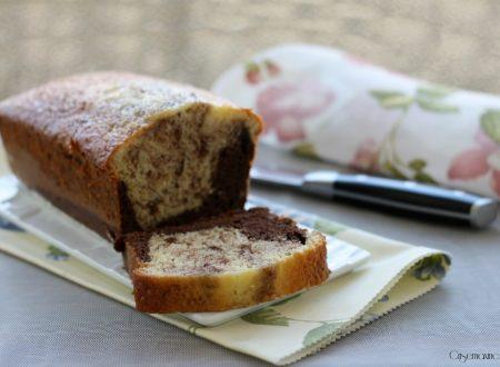 Plumcake panna e cacao, ricetta con kit forno Magic Cooker