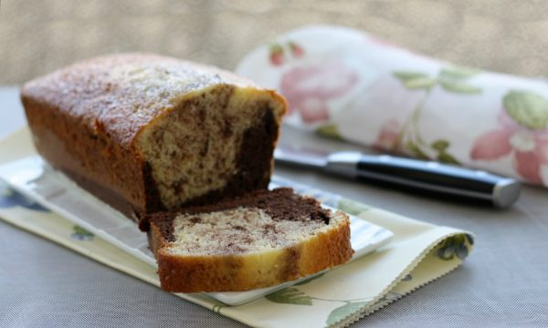 Plumcake panna e cacao, ricetta con kit forno Magic Cooker