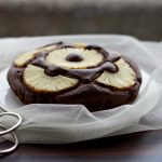 torta al cioccolato e ananas