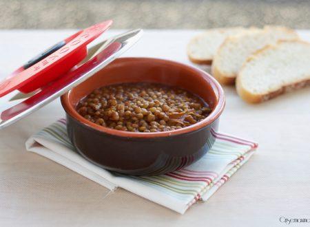 Lenticchie in  umido con Magic Cooker, ricetta gustosa