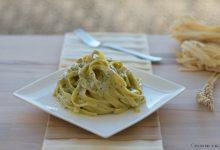 Tagliatelle al pesto e tartufi, ricetta facile e raffinata