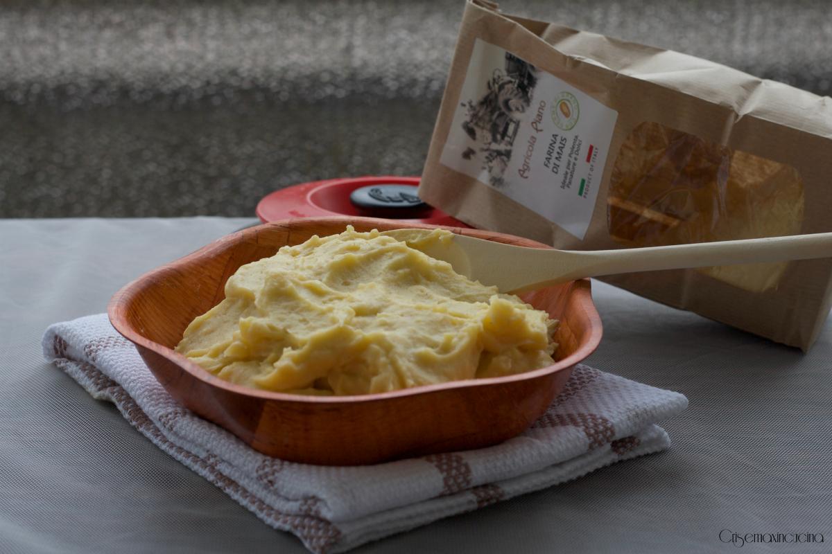 polenta con magic cooker