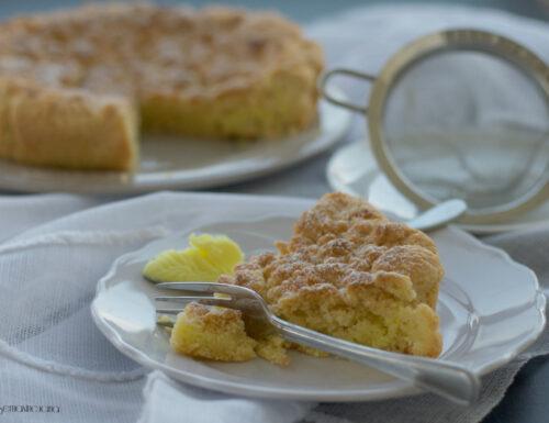 Torta sbriciolata al limone, ricetta golosa