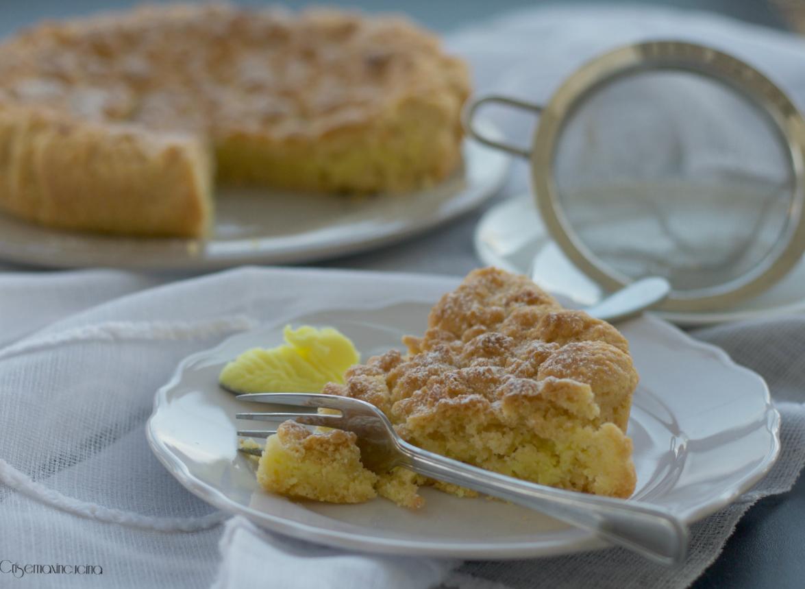 torta sbriciolata al limone