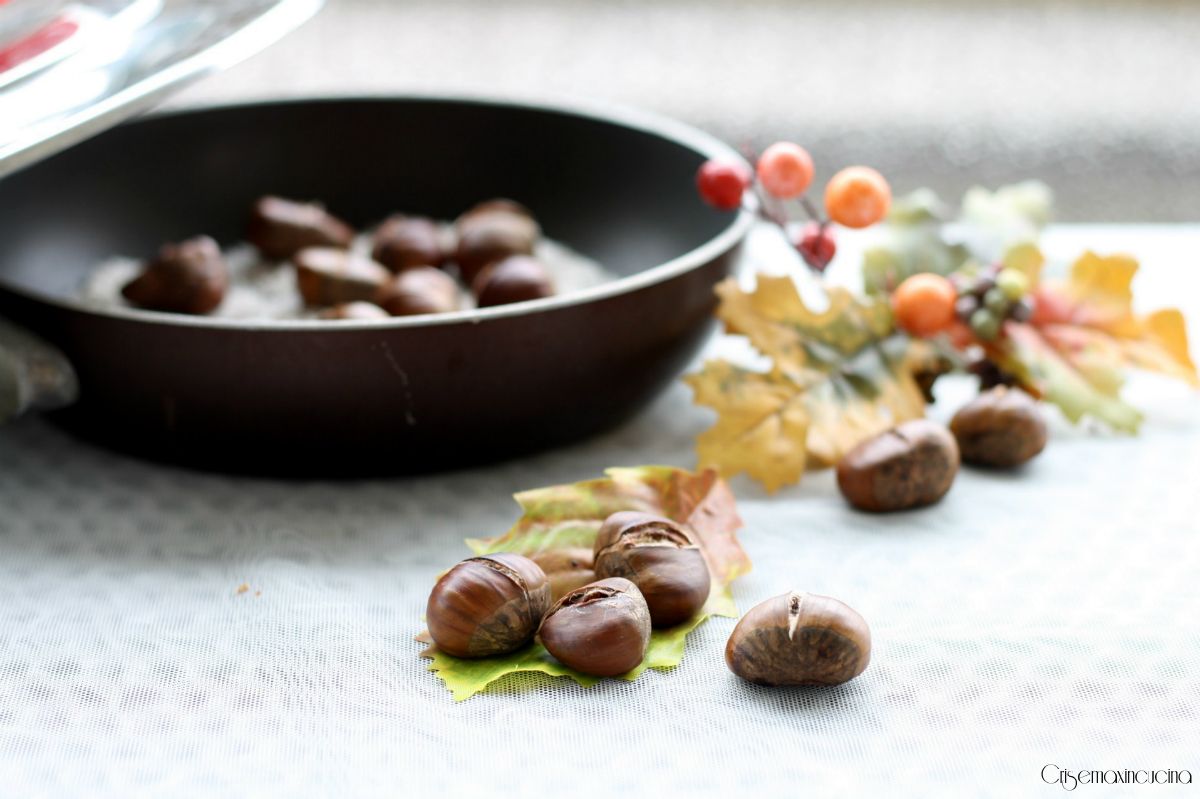 caldarroste al sale con magic cooker