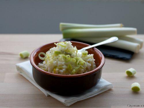 Risotto ai porri, ricetta facile e gustosa