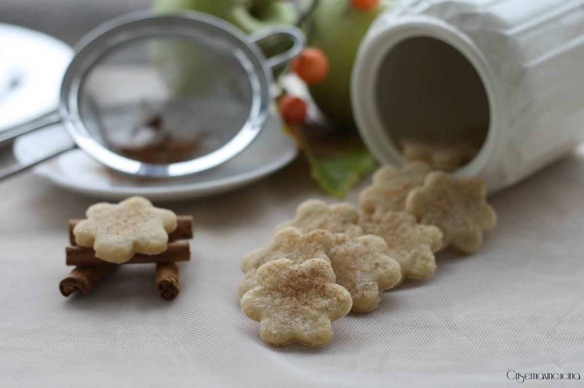 biscotti senza zucchero mela e cannella