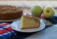 Torta con crumble di mele, ricetta gustosa e croccante
