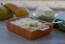 Risotto con taleggio e pere, ricetta gustosa e raffinata